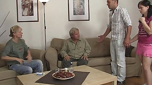 All-family fuck scenes with REAL amateurs